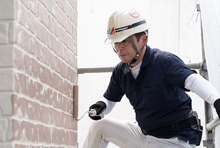 日本ペインターズがその高い塗装技術を持って、皆様の住まいをお守りいたします