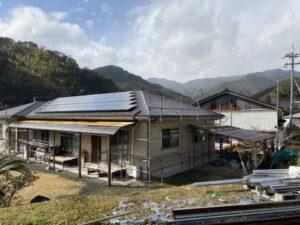 薩摩郡さつま町にて 屋根・外壁塗装工事 ~着工~